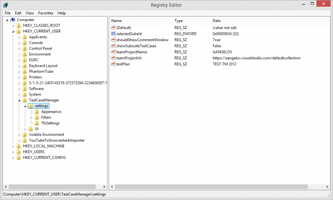create registry key from c#