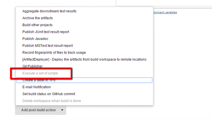 How To Delete TFS Workspace in Jenkins Jobs