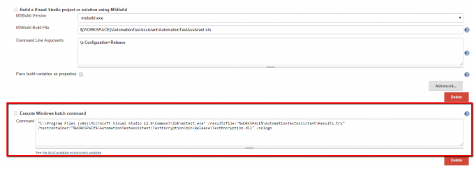 windows-batch-command-for-jenkins-execution-mstest-tests - Automate