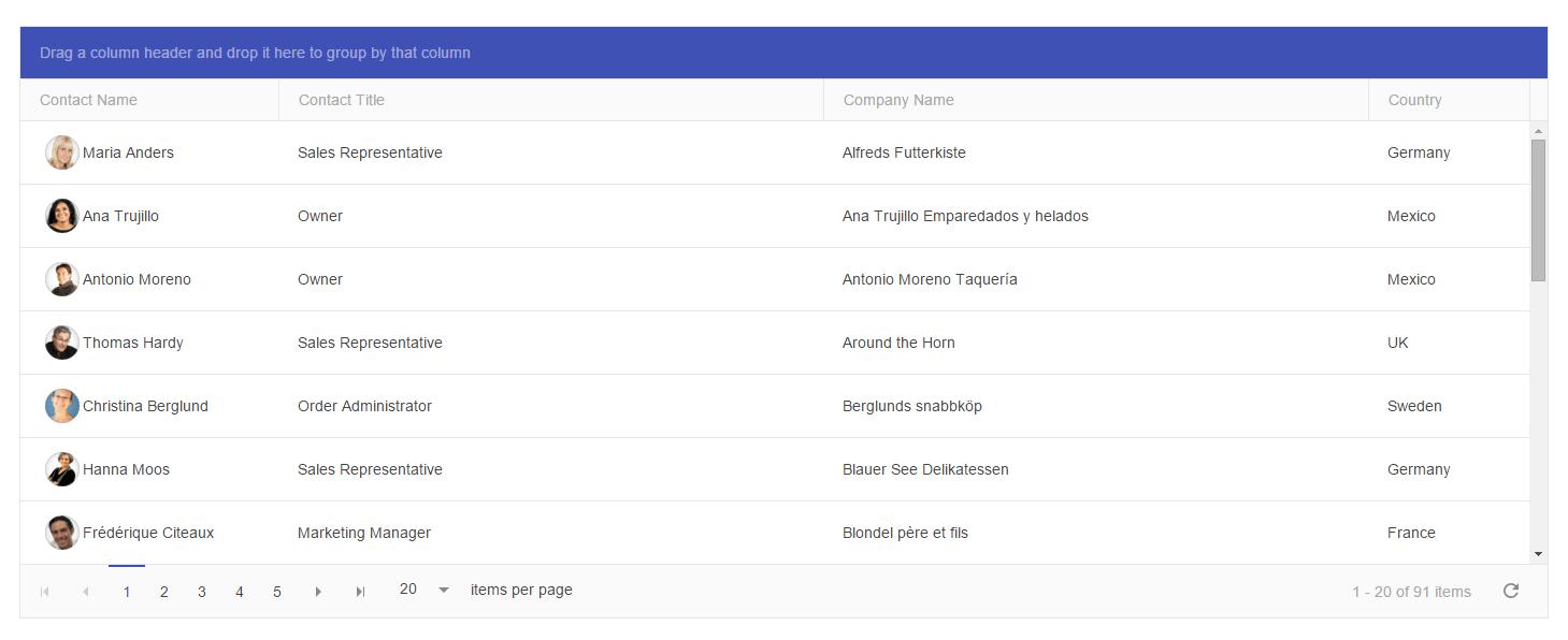 Automate Telerik Kendo Grid WebDriver JavaScript