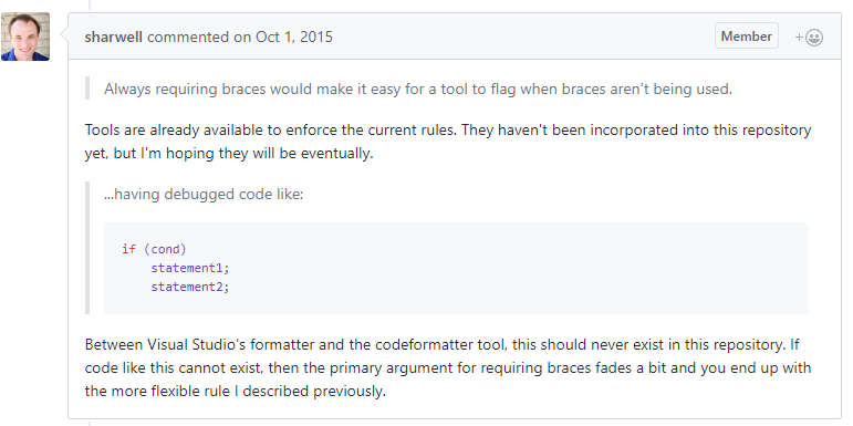 StackOverflow Comments Quality Code